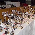 Trofeele turneului de tenis